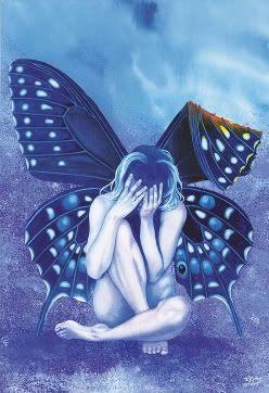 Black Broken Heart Angel | Broken Heart With Wings Image - Broken Heart With Wings Graphic Code ...
