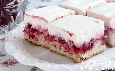 Пирог с брусникой и сметаной | Кулинарные рецепты от «Едим дома!»