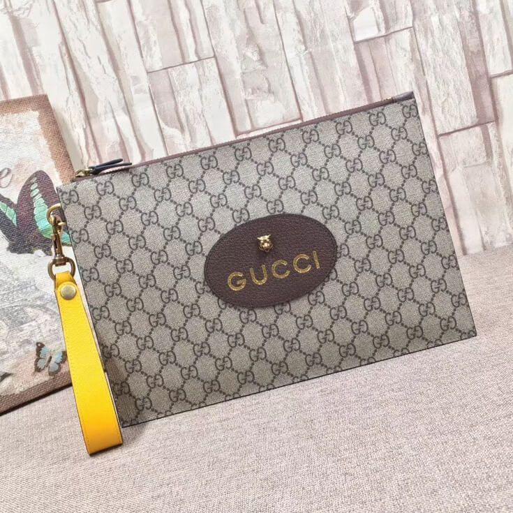 768e25ae4bf673 Gucci Neo Vintage GG Supreme Pouch 473956 2017 | Gucci Designer ...