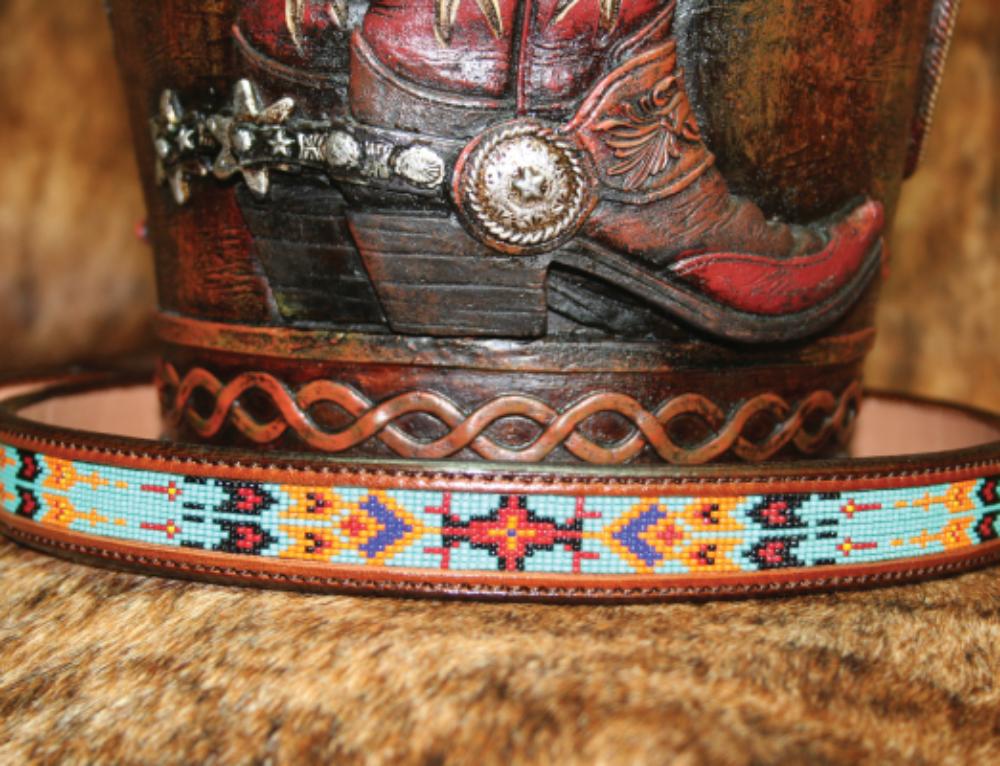 Native American #2 Leather Belt