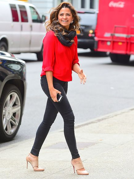 Star Tracks: Wednesday, April 15, 2015 | RED-Y TO GO | Looking every bit the model she is, Camila McConaughey has some spring in her step while arriving in N.Y.C. on Tuesday.