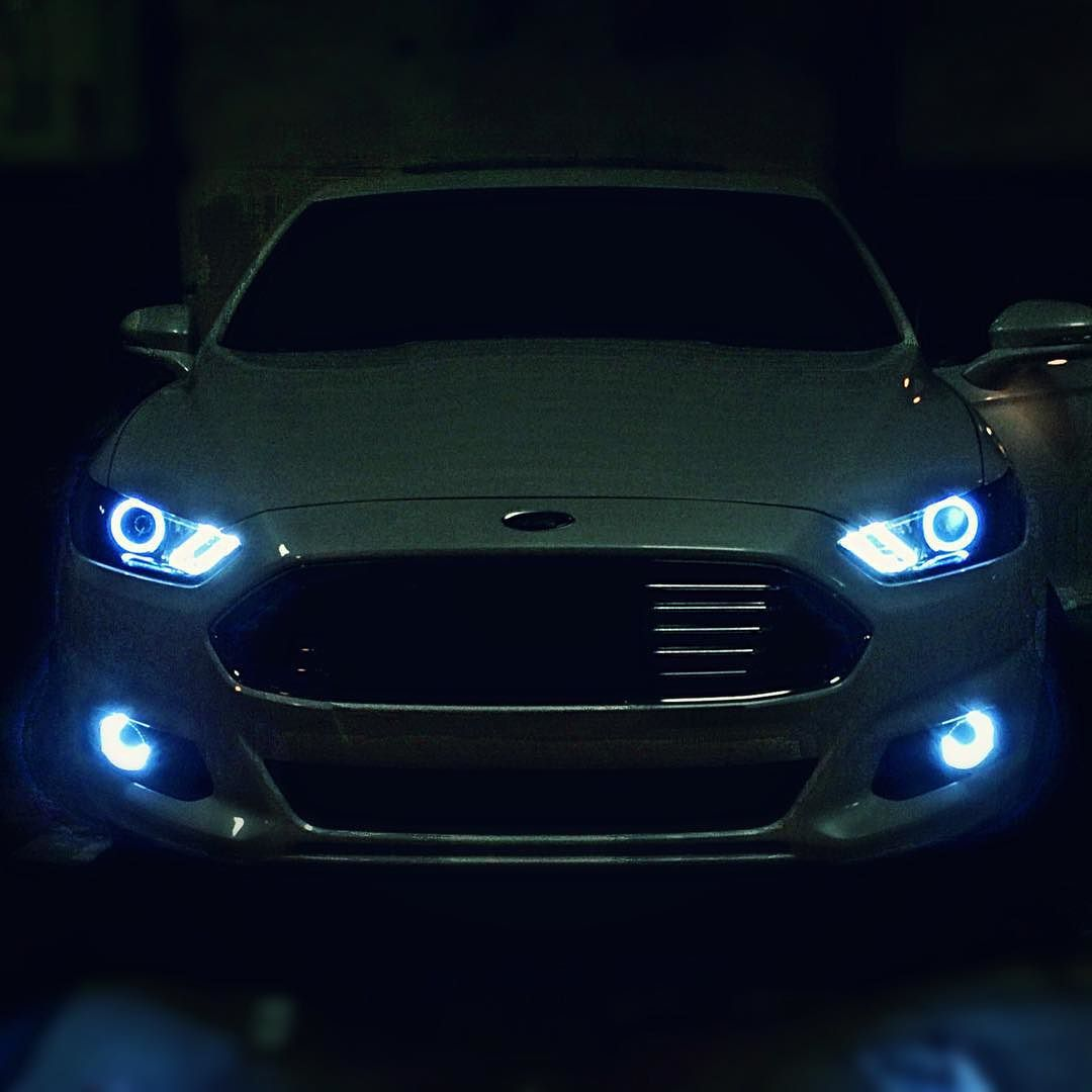 Fusion stage 2 headlights and halo fogs i built and installed today by matt_korotney