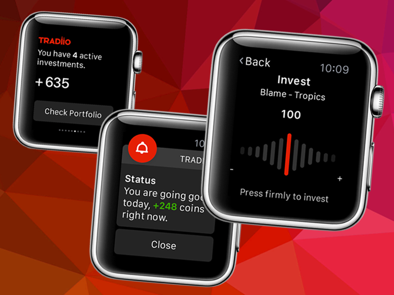 Tradiio Apple Watch Apple watch, Apple, Interactive design