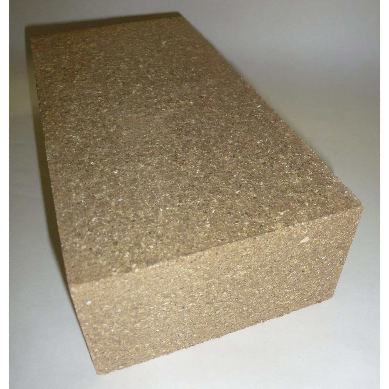 Brique Réfractaire Terre Cuite P22 X H11 X Ep6 Cm