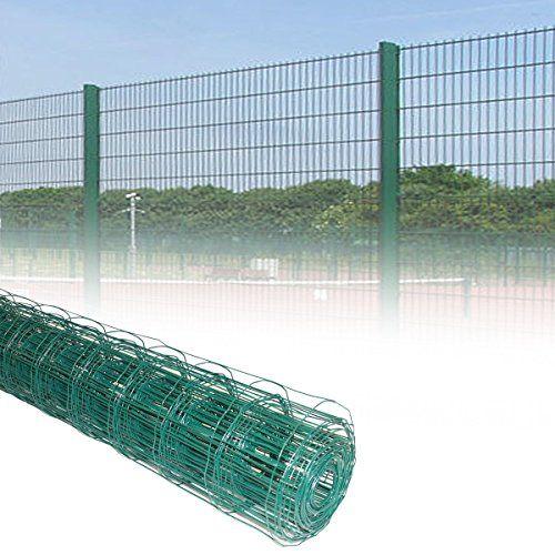 From 19 99 Marko Fencing Pvc Green Plastic Coated Metal Garden