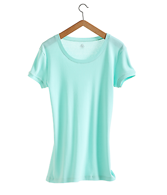25ac214af84 Mc tee shirt round neck green water woman petit bateau new labelled xs s m  and l