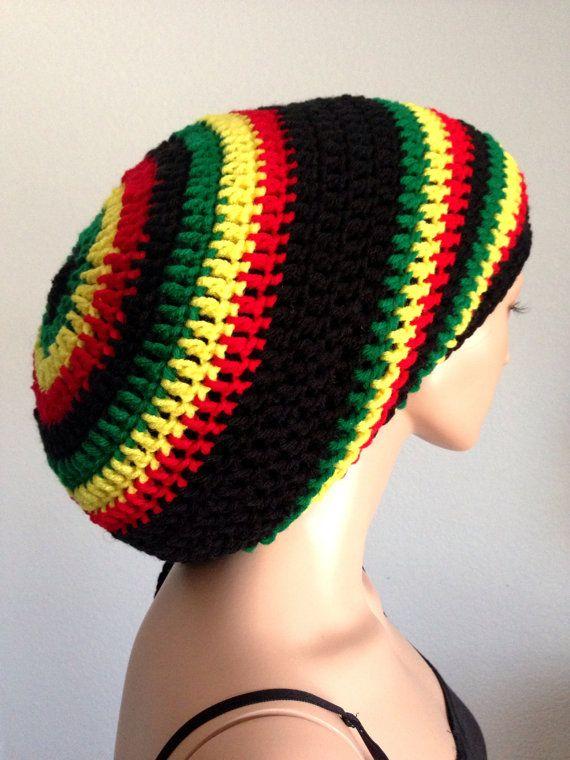 Crochet Rasta Tam/ Mega Dreadlocks Tam/ Dread Tam/ by Africancrab ...