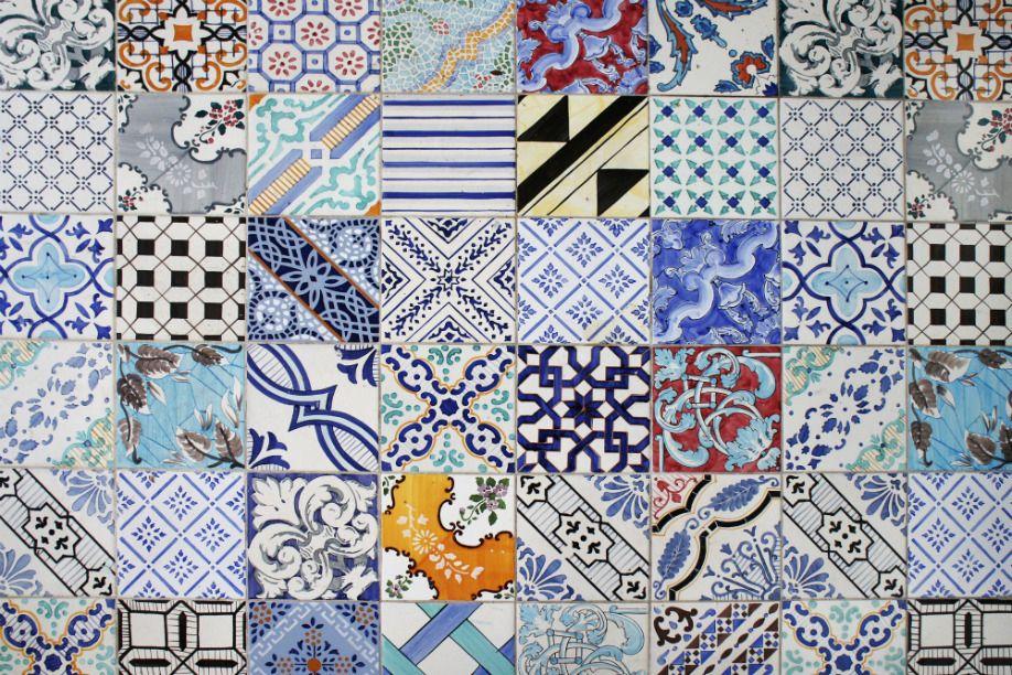 Casa in stile mediterraneo parete a mosaico silva silvatutto