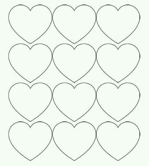 Valentine Printable Heart Patterns - Restaurant Interior Design ...