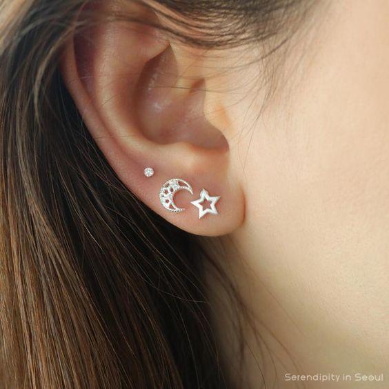 NYBB.de – tus estilos. Sus ofertas #earpeircings Cuello elegante y con estilo …