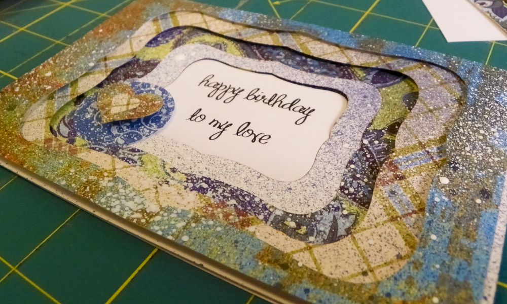 Mighty Crafty: Window Card from A Cut Above Class