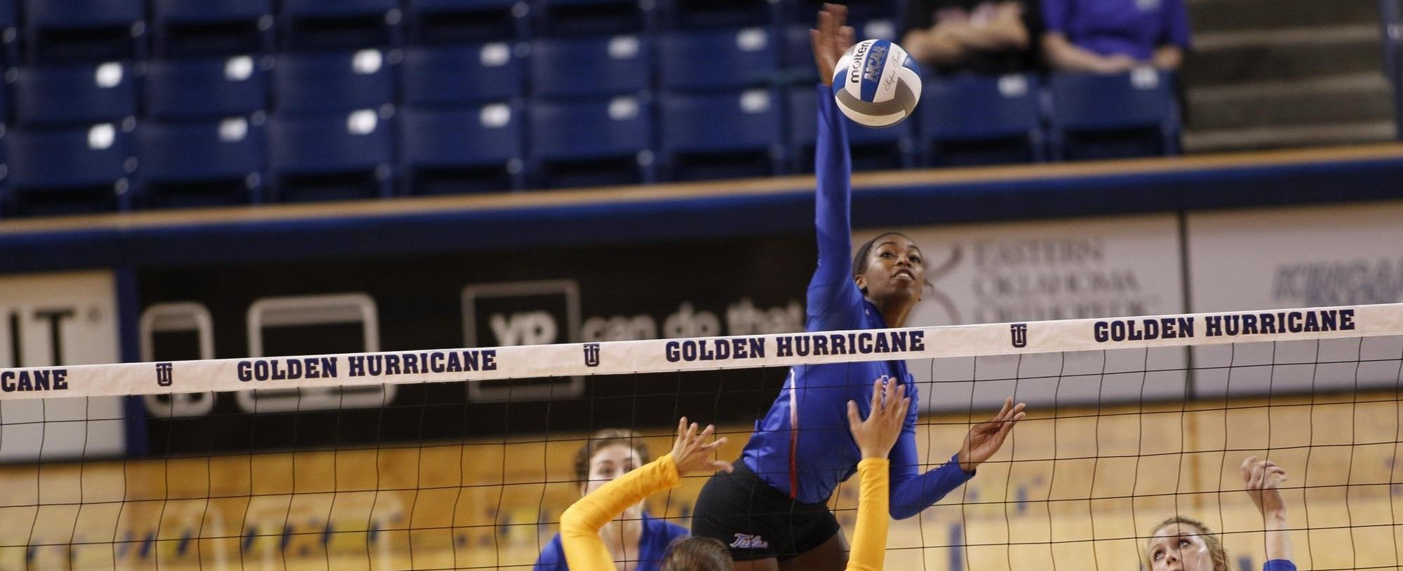 Tulsa S Ashley Hooper Named American Conference Player Of The Week Volleyball News Athlete Conference