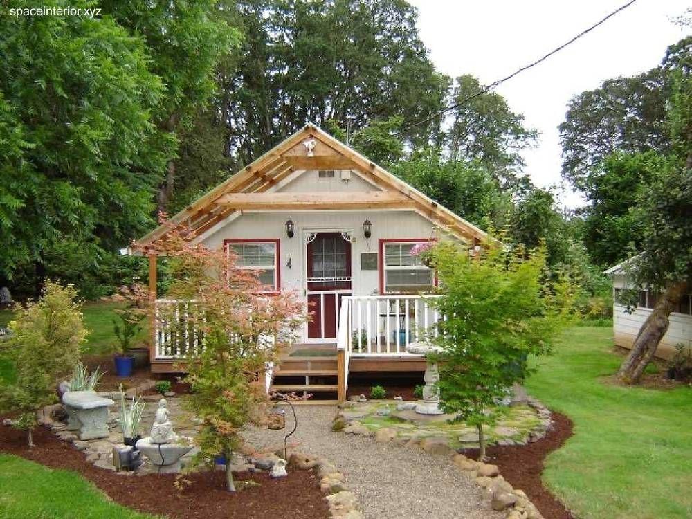 Casa country de madera peque a casas de madera en 2019 pinterest - Casa madera pequena ...