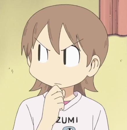 Aioi Yūko (相生 祐子). Anime expressions, Nichijou, Anime icons