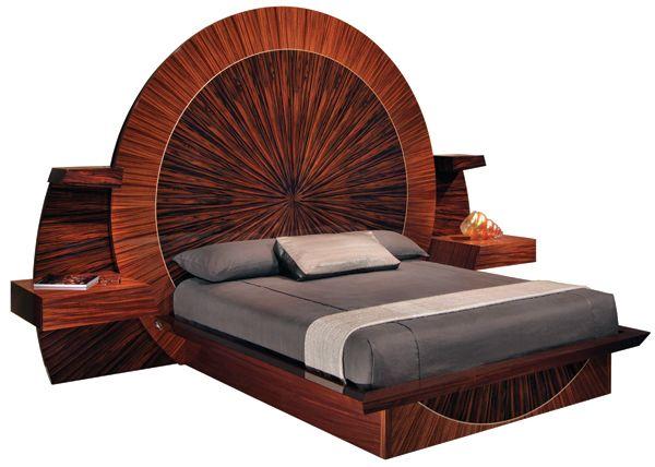 Sunset Bed, Parnian Furniture