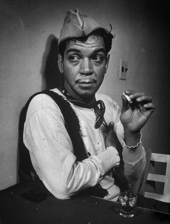 """Don Mario Moreno """"cantinflas."""