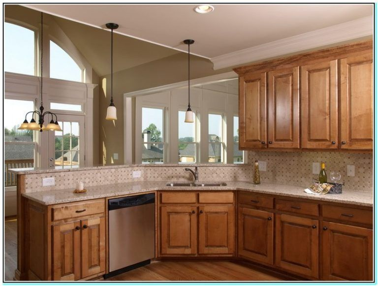Kitchen Paint Color Ideas With Light Oak Cabinets Torahenfamilia Com Kitchen Paint Colors With Light Tuscan Kitchen Design Tuscan Kitchen Corner Sink Kitchen