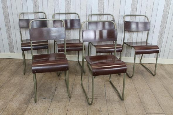 This vintage industrial stacking chair is one of our large range of stacking chairs that we currently have for sale; ideal for any retro interior, restaurant, cafe etc. - See more at: http://www.peppermillantiques.com/vintage-stackable-chairs-metal-stacking-school-chairs/?utm_source=dlvr.it&utm_medium=facebook&utm_campaign=Feed%3A+peppermillantiques+%28Peppermill+Antiques%29&utm_content=FaceBook#sthash.0Okq5l4x.dpuf