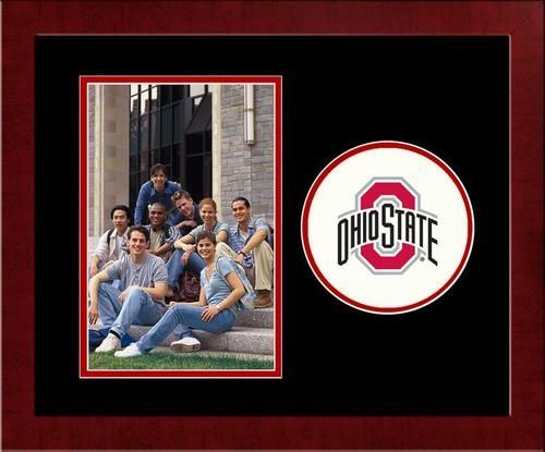 Ohio State University Buckeyes Picture Frame Vertical 4x6 Photo Frame