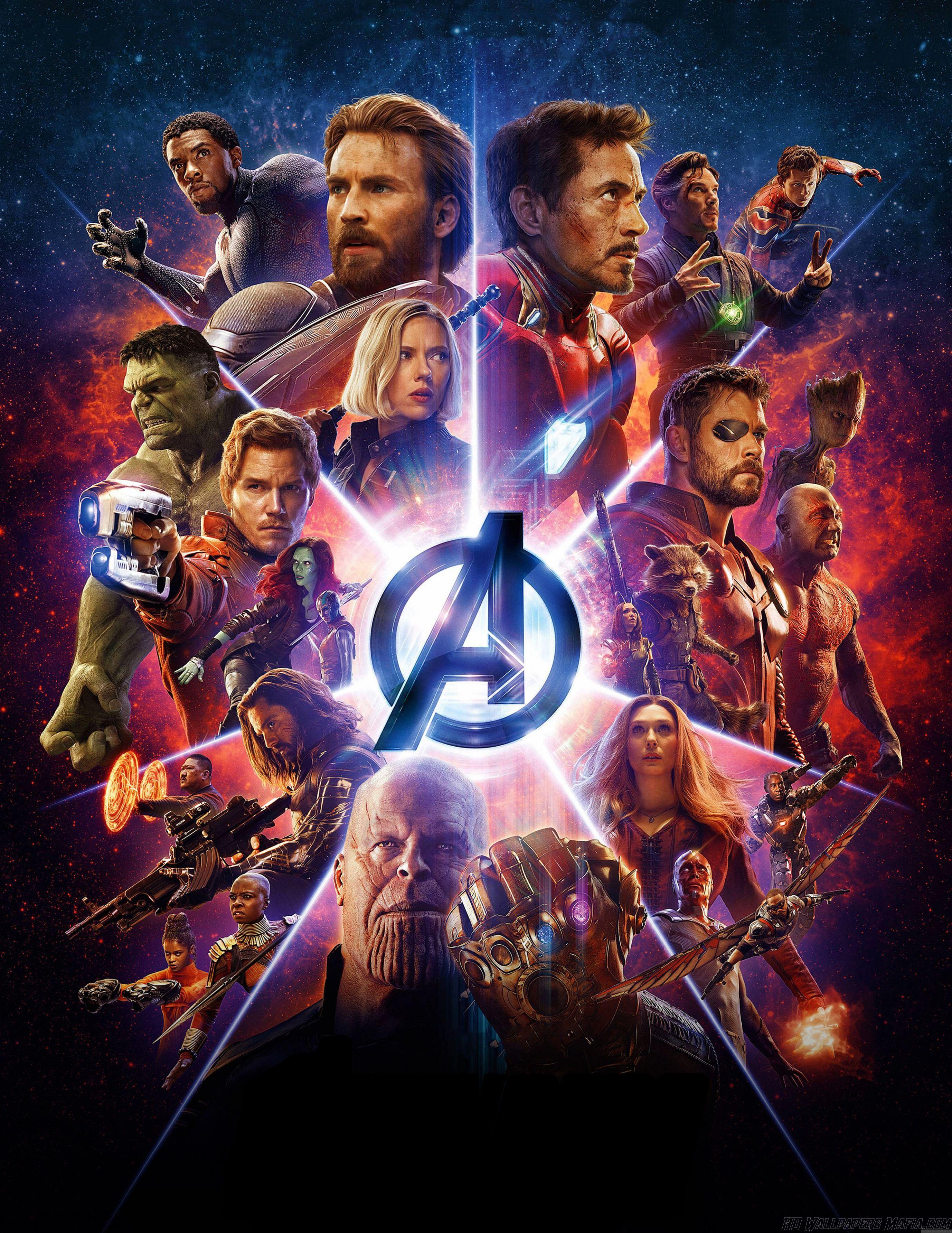 Avengers Infinity War Wallpaper Https Hdwallpapersmafia Com Avengers Infinity War Wallpaper 2 Avengers I Marvel Infinity War Marvel Cinematic Avengers