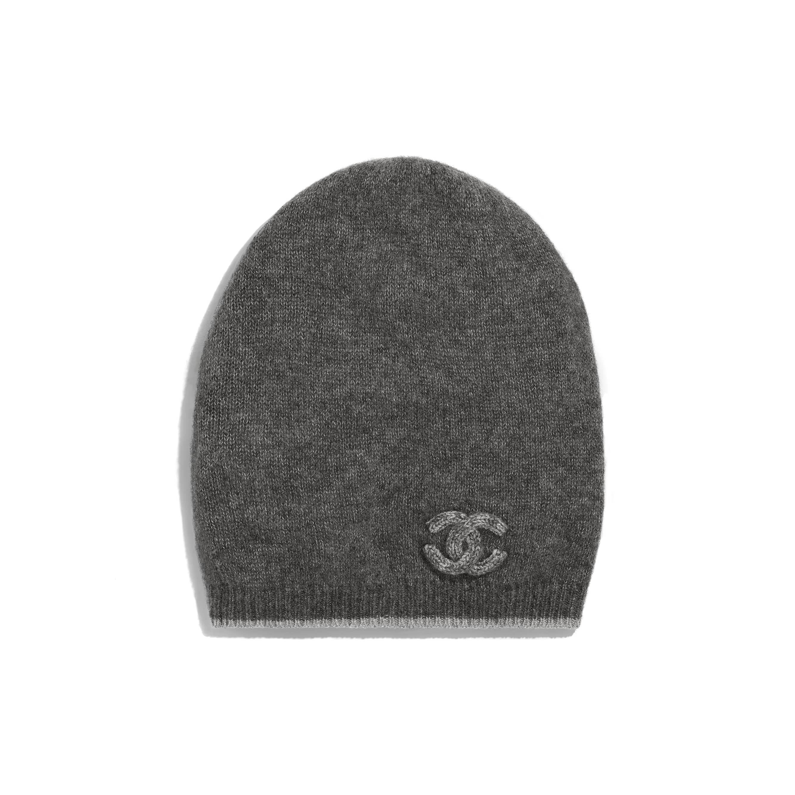 278fa47fe Chanel - PRE FW2018/19 | Gray cashmere & silk beanie ($575) | HATS ...