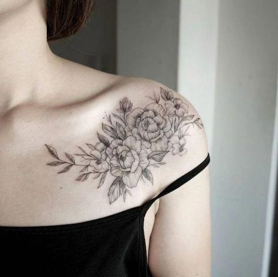 Photo of 35 OF THE MOST POPULAR SHOULDER TATTOO IDEAS FOR WOMEN – SHOULDER TATTOO, tribal…