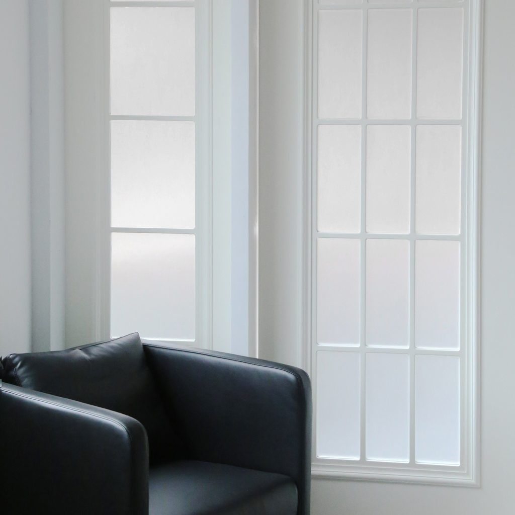 Ez Film Frosted Window Film Privacy Static Cling Frosted