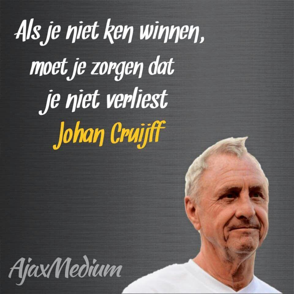 Citaten Sport Zone : R i p johan cruyff cruijff pinterest