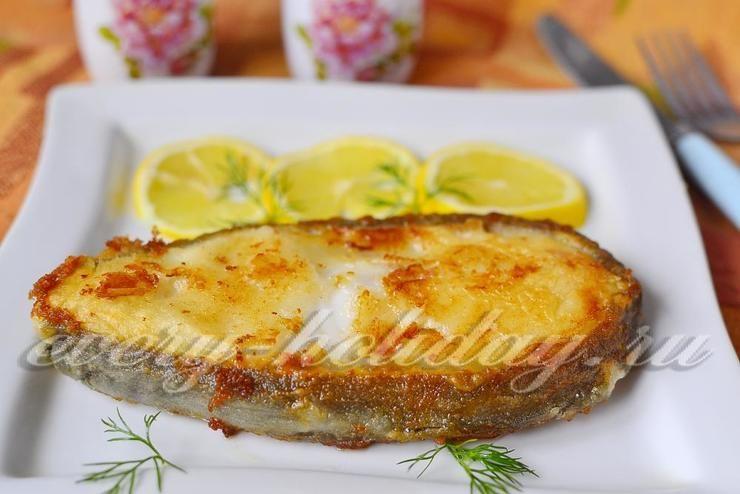 как пожарить рыбу зубатку на сковороде