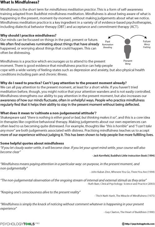 23++ Meditation worksheet Live