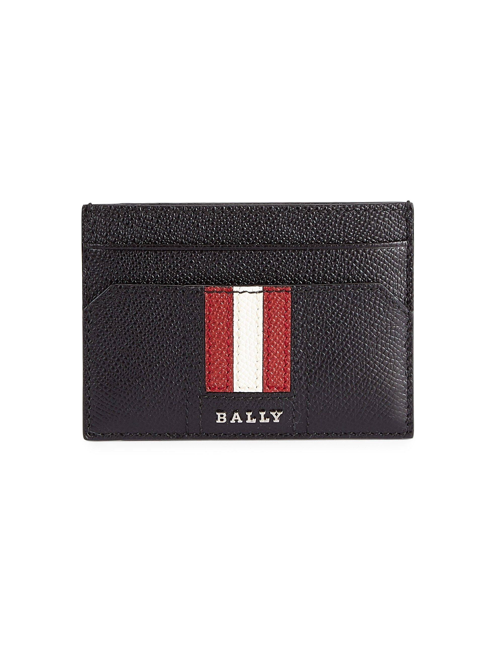 Taclipo Leather Business Card Holder, Black | Pinterest