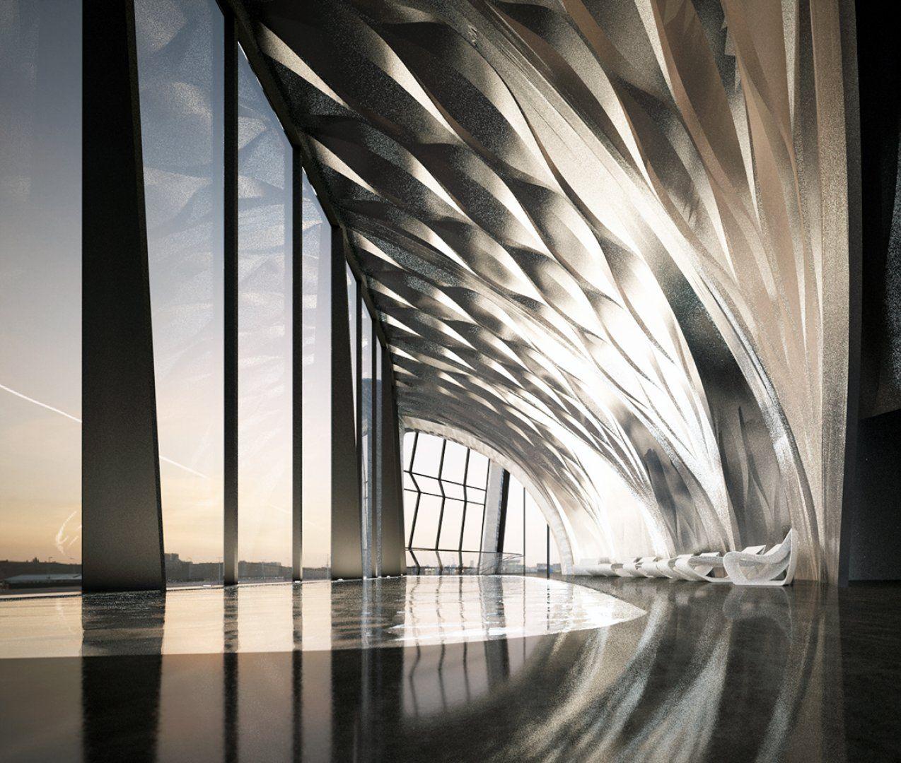 1000 museum architecture zaha hadid architects museo for Arquitectura zaha hadid