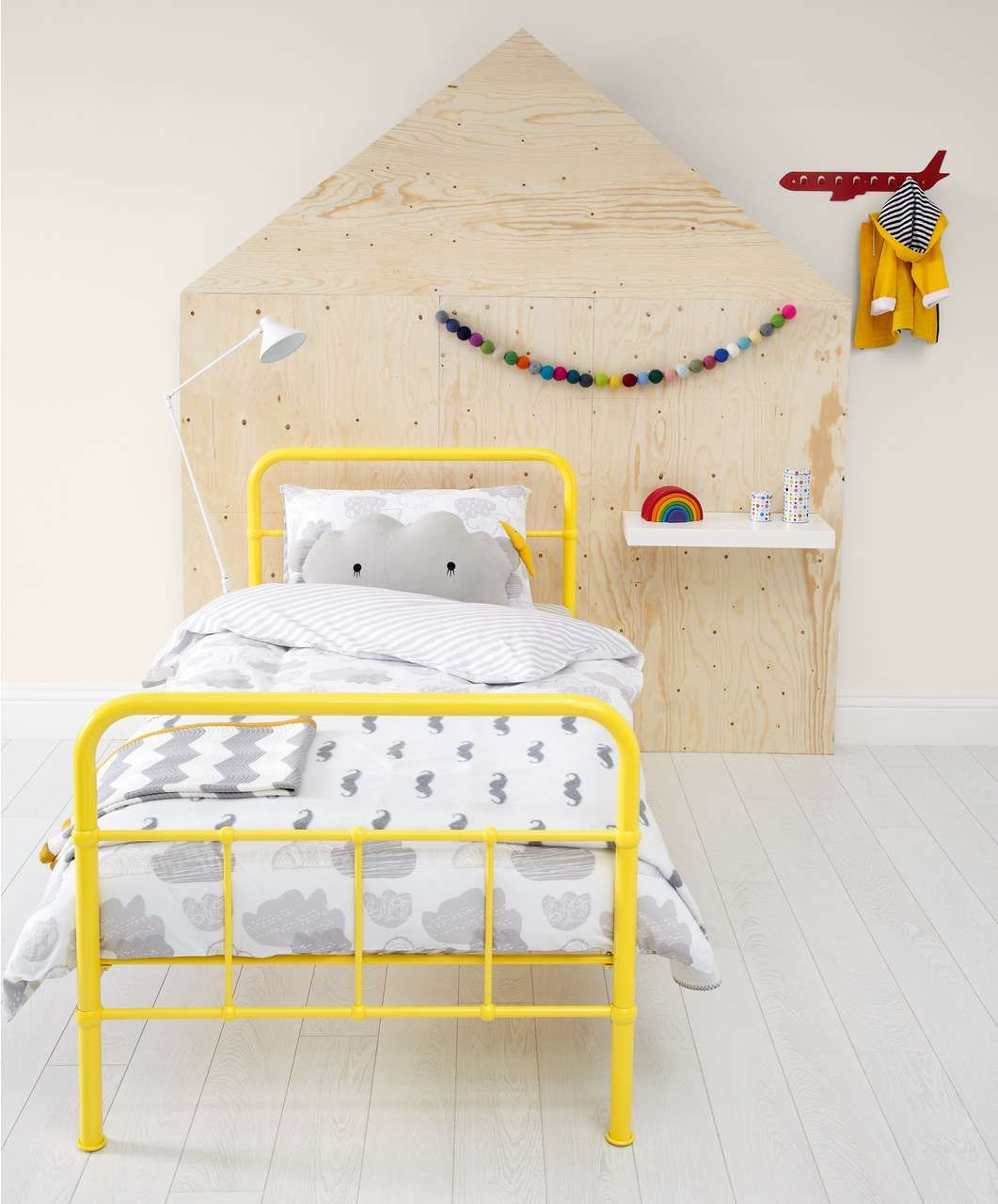 Rory Single Bed Yellow Clearance Up To 50 Off