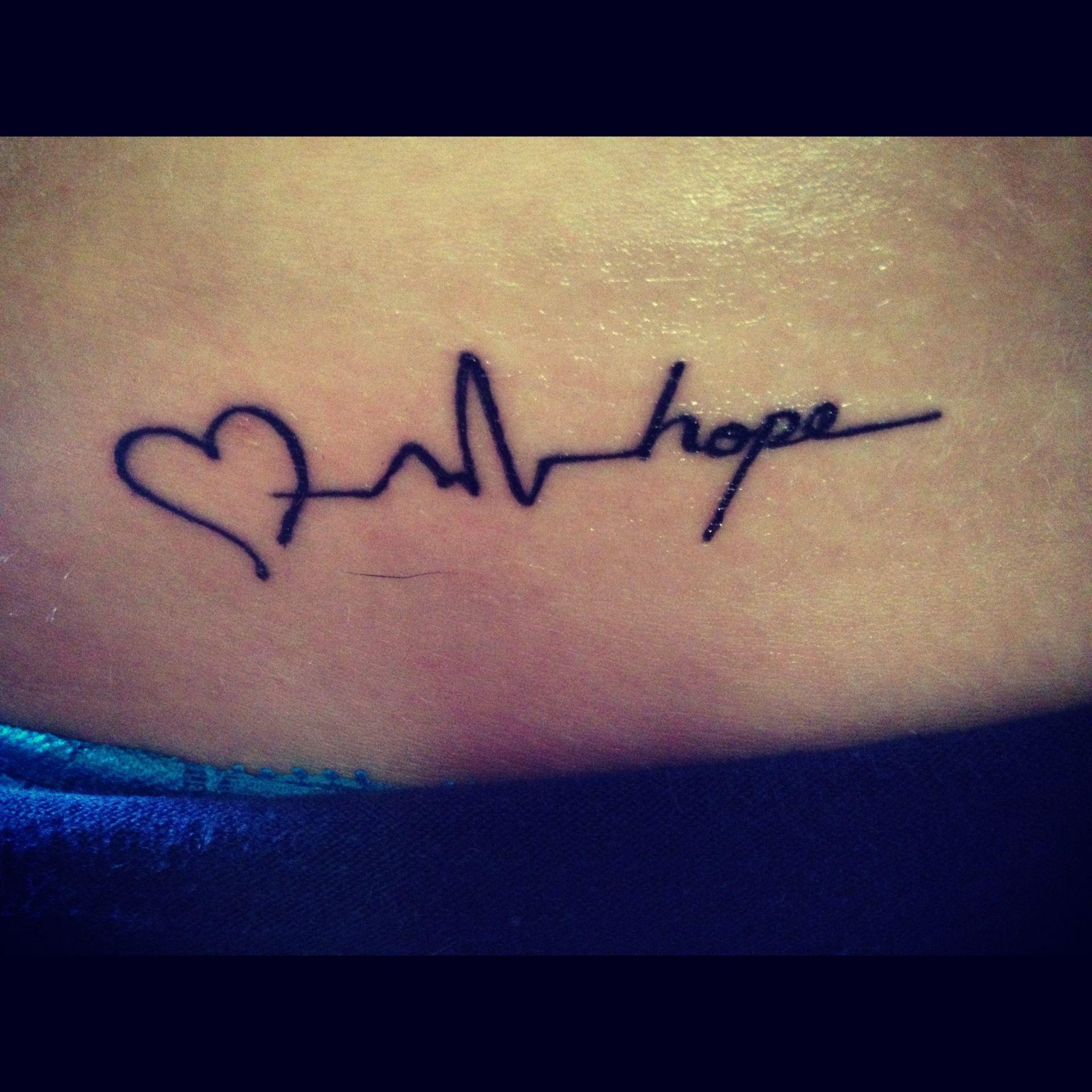Love, Life, & Hope :) #tattoo #love #life #hope