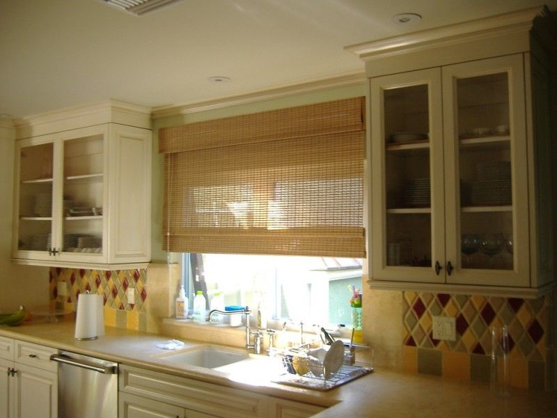 Chic Roman Shades Outside Mount For Your Windows Woven