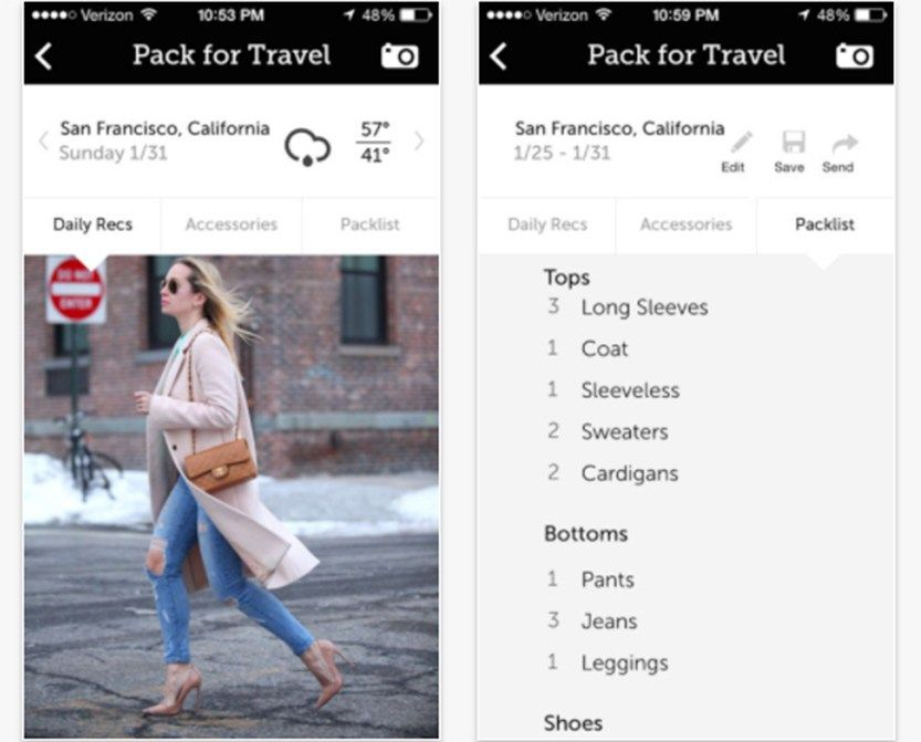 These five apps are here to help you pack easier and more efficiently.
