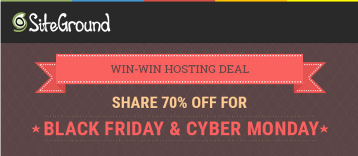 SiteGround Black Friday 2020 Deals Offers, Discounts