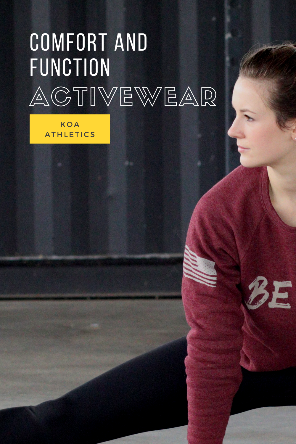 All American made. The softest fitness sweatshirt you will own. Great for early gym mornings, late n...