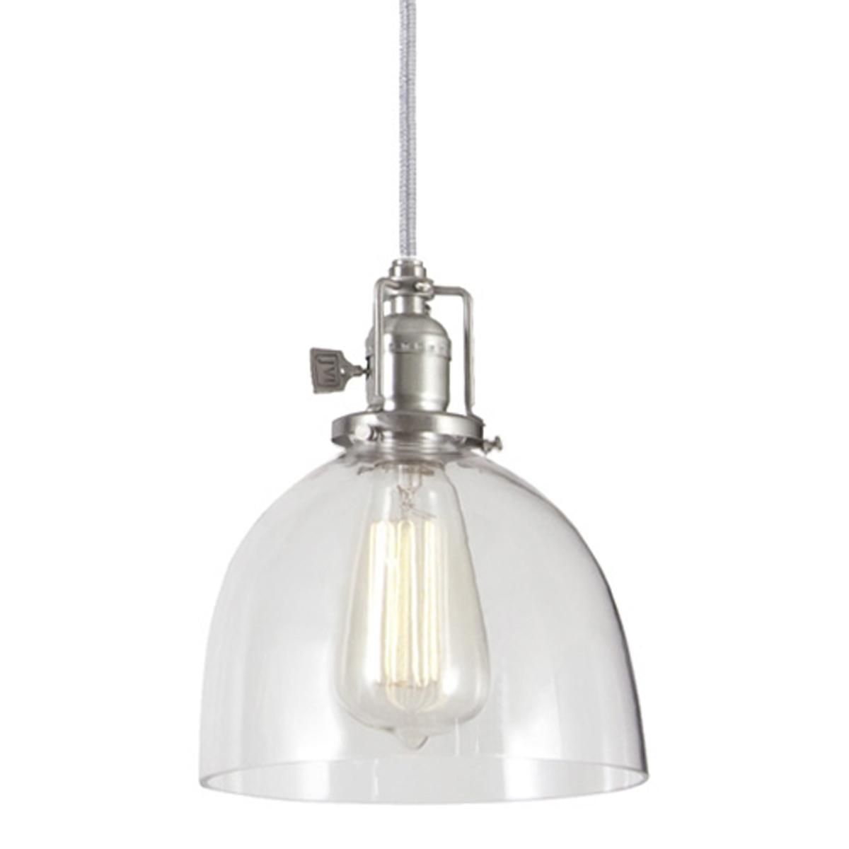 Clear Gl Dome Pendant Kitchen Remodel Ideas