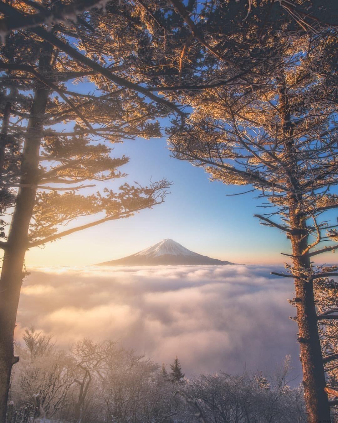 Takahiro Hosoe Captures The Beauty Of Japan In Winter Photography Japan Winter Landscape Beautiful Photography Nature Nature Photography Fantasy Landscape