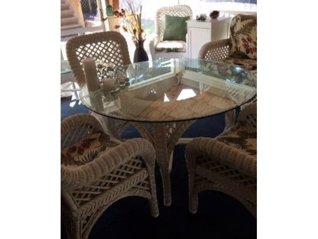 Wicker Dining Set  Home Furniture  Garden Supplies  Stratford Simple Dining Room Sets In Ct Decorating Inspiration