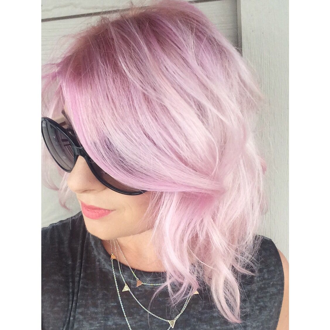 Pastel Pink Hair Pravana S Paul Mitchell Ink Scruples Instagram Heatheryacendahair