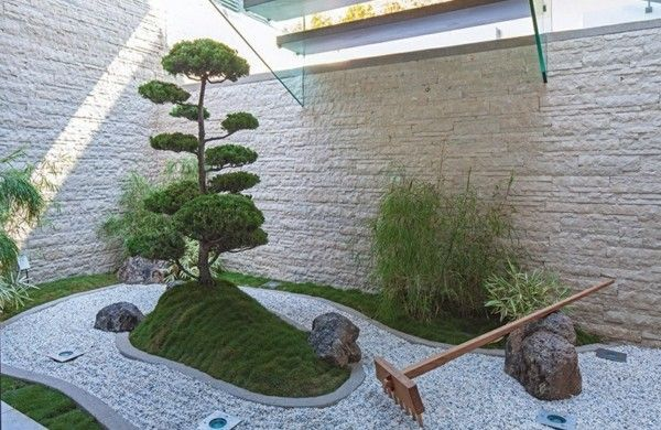 Gartengestaltung Ideen Gartengestaltung Modern Steingarten Bilder Moderner  Steingarten