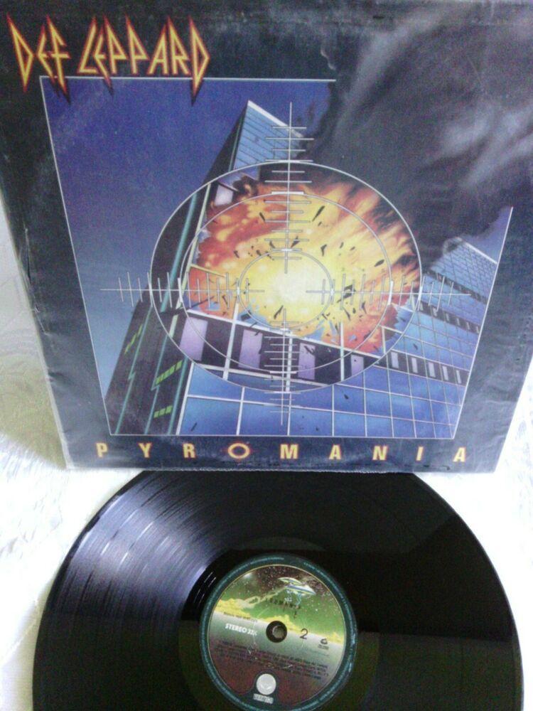 Check Out Def Leppard Pyromania Vinyl Record Lp Rock Vertigo Venezuela 1983 Hardrock Https Ebay Us Da4hpj Via Ebay Ccs Vint Vinyl Records Lp Albums Vinyl
