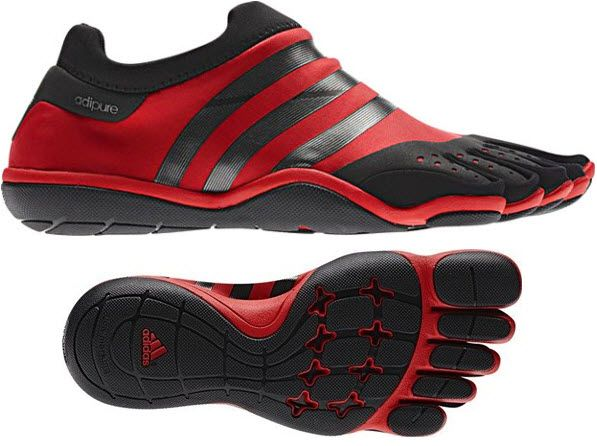 new style e81cf 3d9fb Adidas Adipure Trainer Copies Vibram s Five Fingers For Indoor Workouts. i  want this!