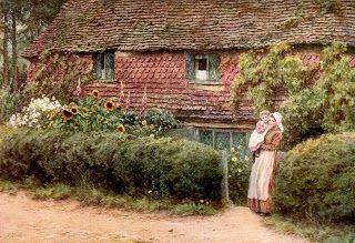 Helen Allingham - Haslemere, Surrey