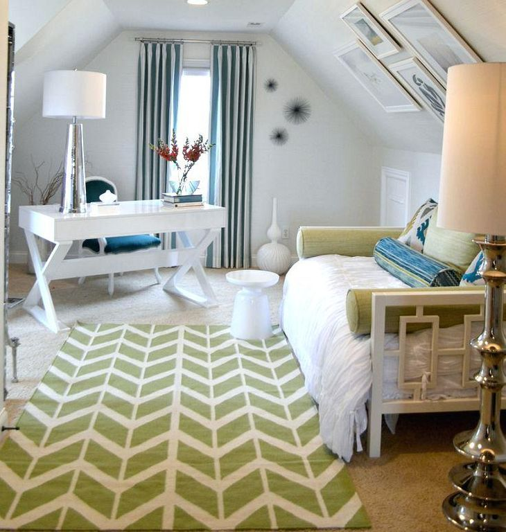 20+ Stylish Guest Room Office Design Ideas
