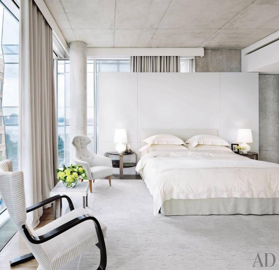 Belle chambre blanche :) | Chambres à coucher ,Bedrooms ...