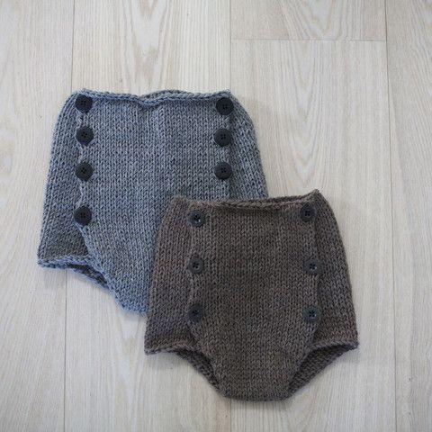 High waist shorts knitting pattern (norwegian and english version ...