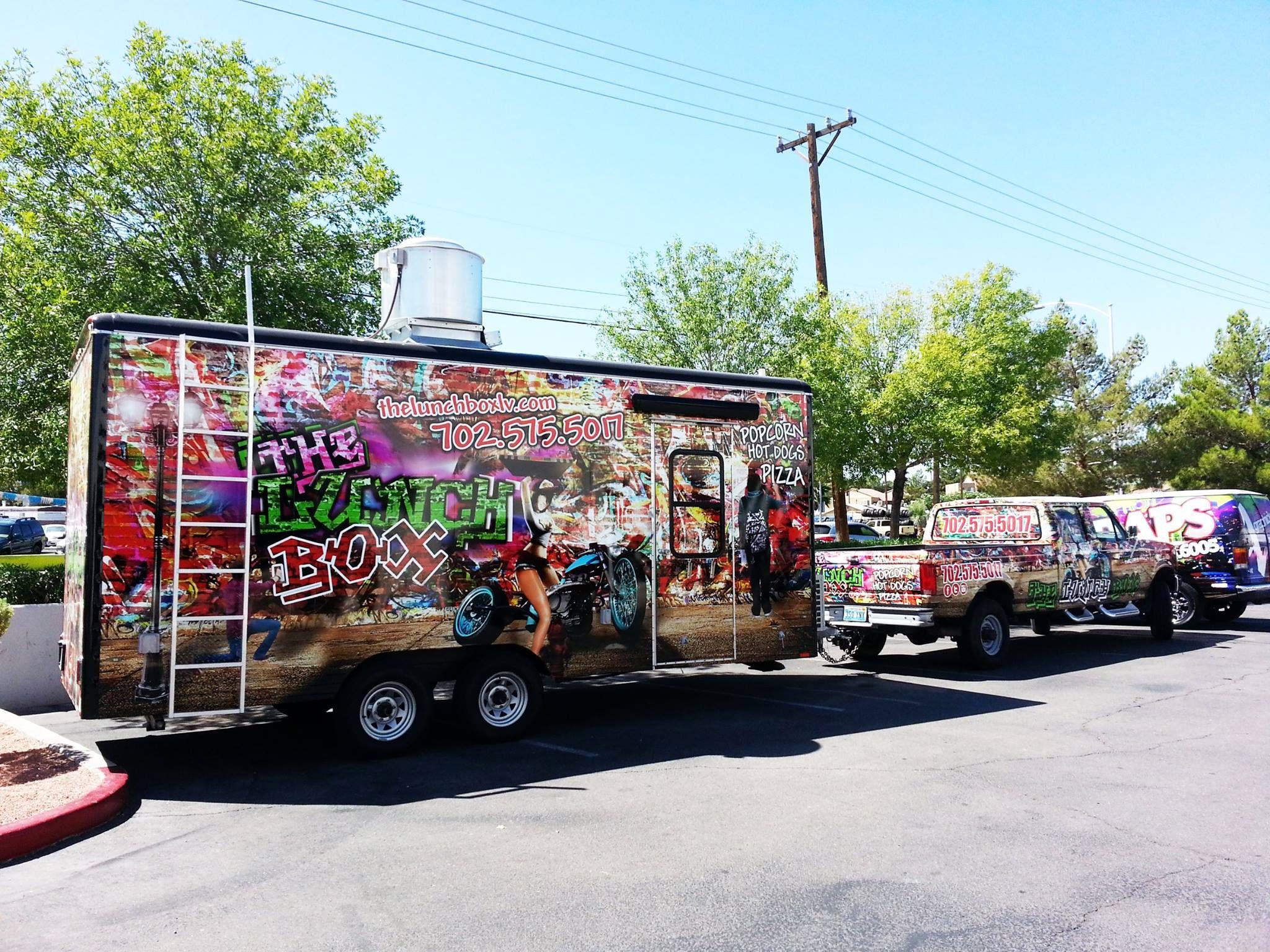 Keosko Food truck Wrap The Lunch Box Food truck, Food